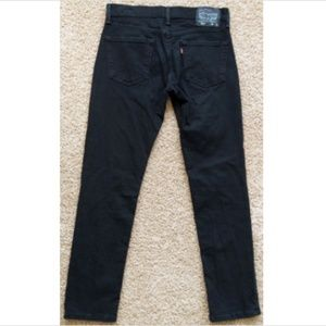Levi's 511 Slim Fit Black Stretch Jeans 31x30